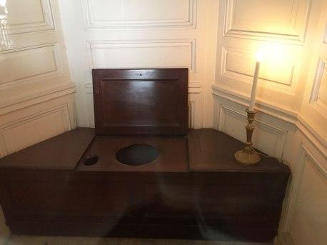 Marie Antoinette's toilet, Petit Trianon, Versailles