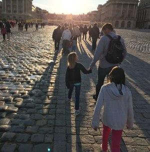 heading into Versailles