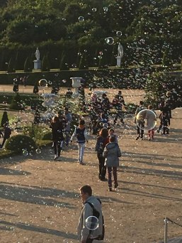 bubbles at Versailles