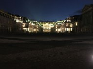 Versailles at night