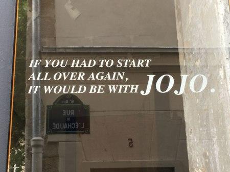 a tribute to Nati's monkey, Jojo