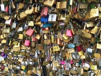 locks on the Pont Neuf