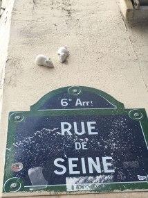 little chalk mice as street art