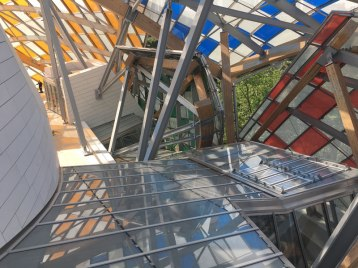Frank Gehry's Fondation Luis Vuitton