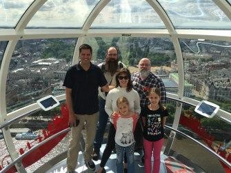 in the London Eye