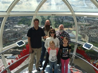 in the London Eye