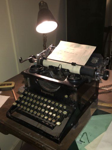 reproduction of Alan Turing's office, Bletchley Park