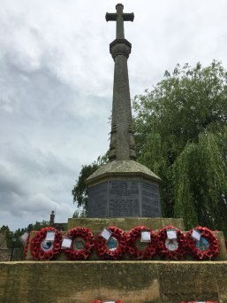 war memorial, Bourton-on-the-Water