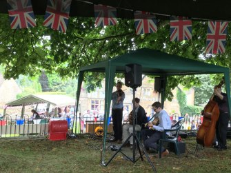 local summer fete, Snowshill, the Cotswolds