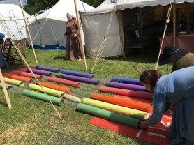 ferret racing, Tewkesbury Medieval Festival