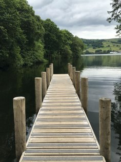 dock at Low Wray, Lake Windermere