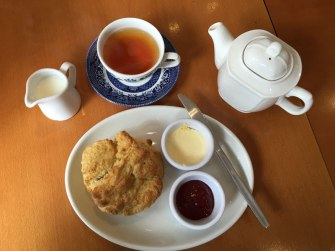 tea at World of Beatrix Potter, Bowness-on-Windermere