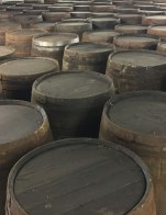 barrels for Tomatin whiskey