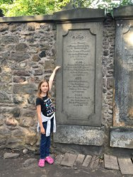 for Harry Potter fans, by the grave of Thomas Riddle