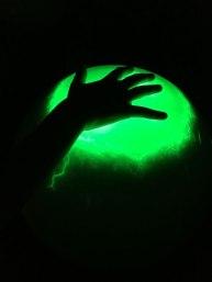 Nati's hand, Camera Obscura Museum