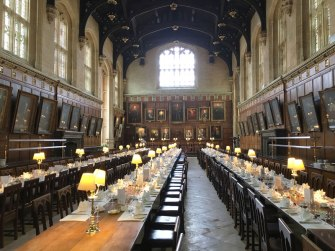 Christ Church dining hall, Oxford